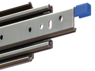 Stainless Steel 227kg Full Locking Container Slide