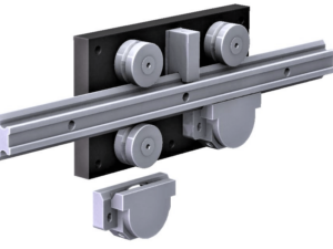 4080.LGV44XL  P1 Steel Linear Rail  2,800-6,000N radial load/slide