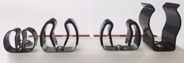 """1500 Tool Mounting Clip 1-1/ - 1-7/8"""" (38x47.6mm)"""