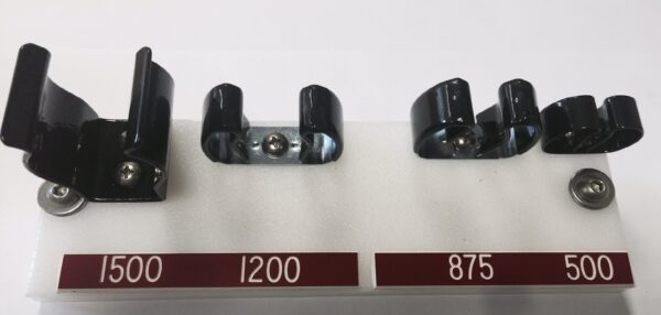 "500 Tool Mounting Clip 3/8-5/8"" (9.5-15.8mm)"