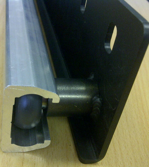 ALRS Steel Door Bracket (For ALRS Rail)