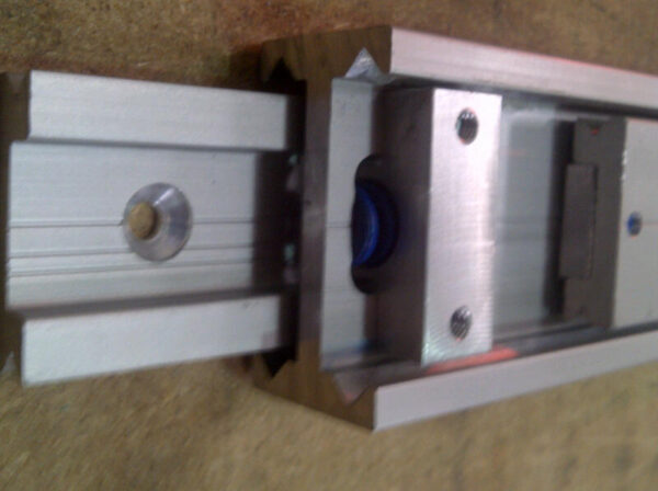 Radial Slide 5229 (135-220kg) Aluminium. Crossed Roller Bearings