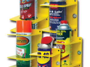 "Small Can Holder - Dia. up to 2-3/4"" (69mm). Yellow Steel"