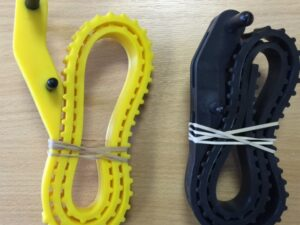 "Adjustable Lock Strap (33"") 2008-1 Yellow"
