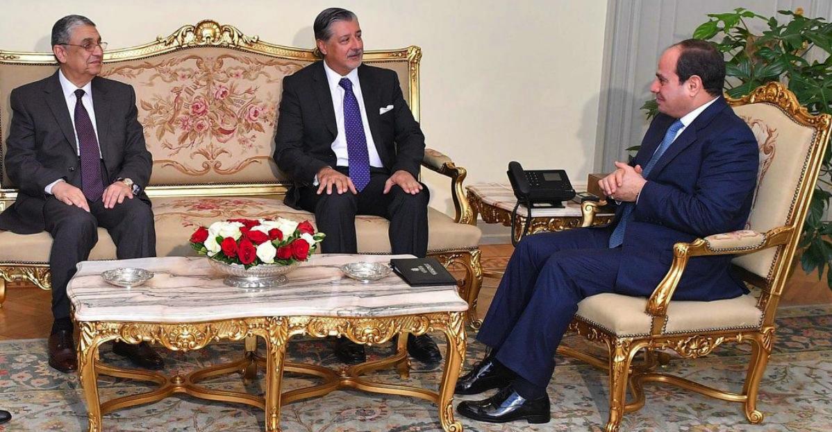 IRENAs-Amin-meets-President-Sisi