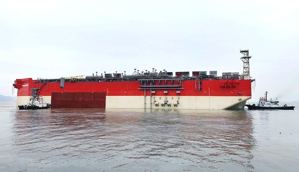 Energean FPSO Hull
