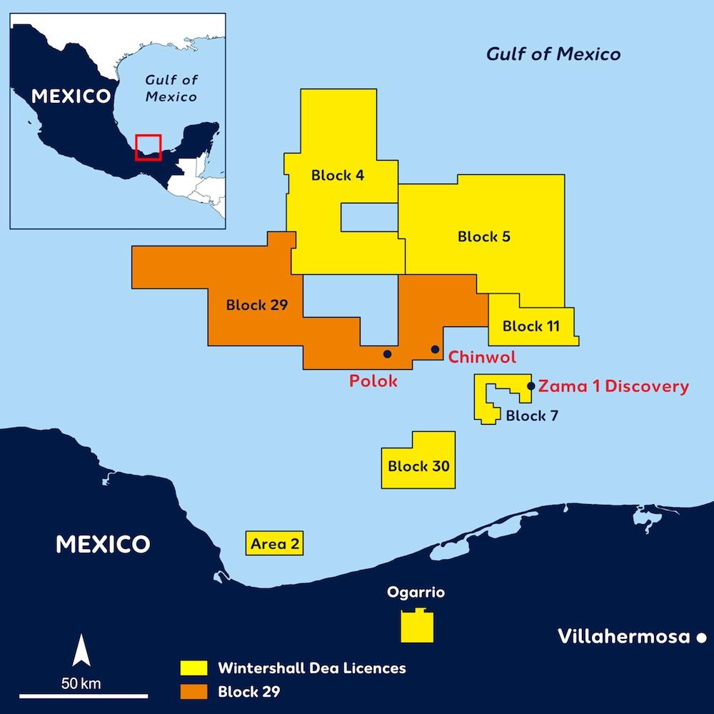Wintershall Dea Licences Mexico_Block 29