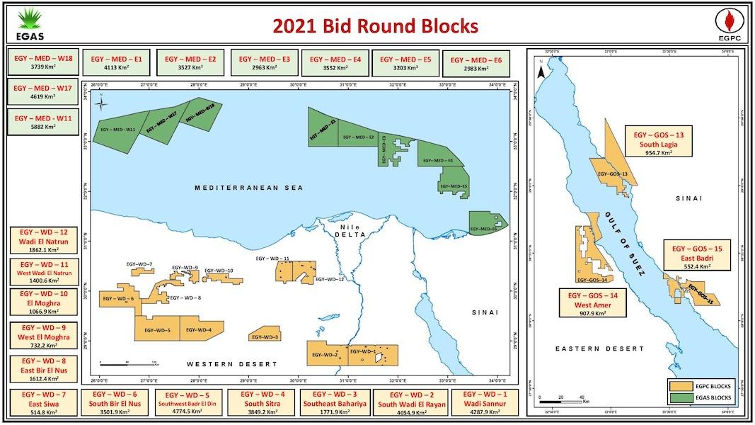 2021 BidRound Map
