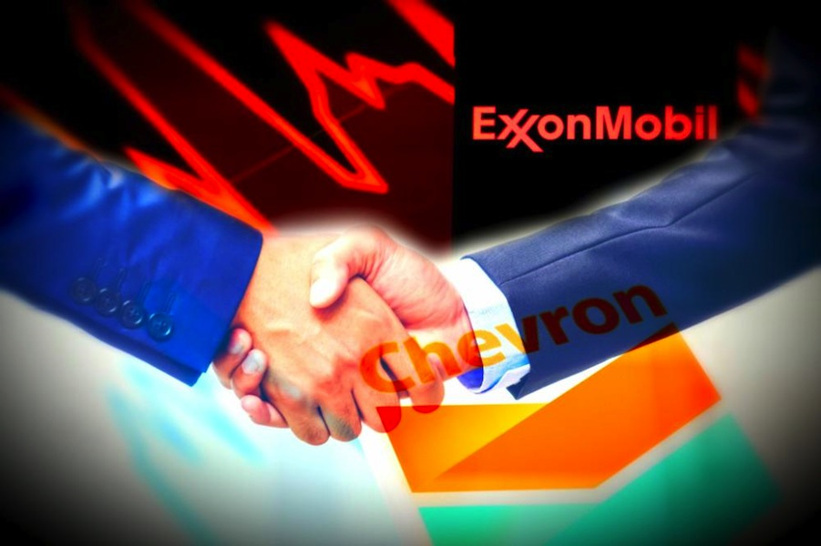 exxon-mobil-chevron-ceos-discussed-merger-reports