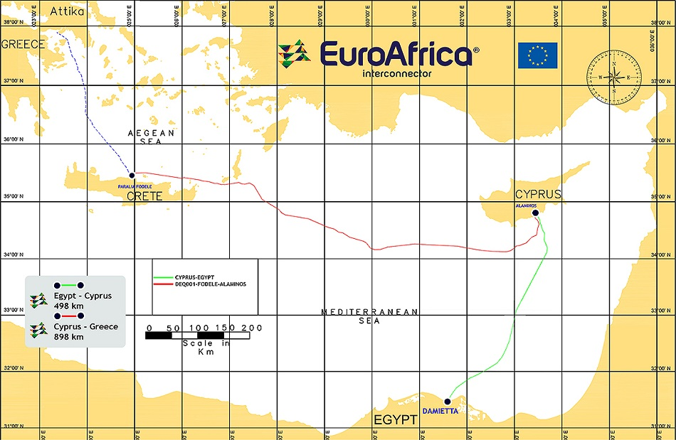 Egypt, Cyprus sign MoU to connect electricity grids via subsea cable