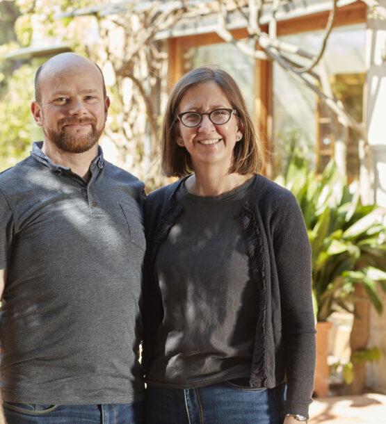 Mike Duff and Michelle Wilson, owner-operators of La Bruguera de Púbol.