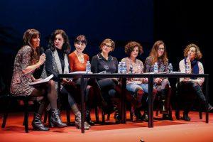 Presentación de la Liga de las Mujeres Profesionales del Teatro en elSalón Del Libro Teatral