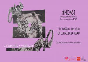 No al Acoso Sexual en la RESAD #NOAST