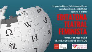EDITATONA TEATRAL FEMINISTA: Más mujeres en Wikipedia