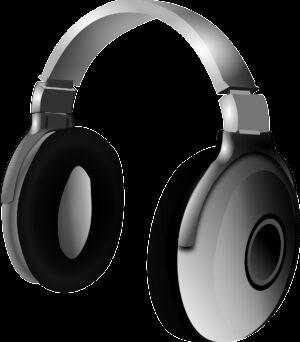 headphone, headset, music