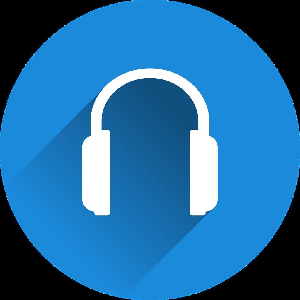 headphones, headset, music
