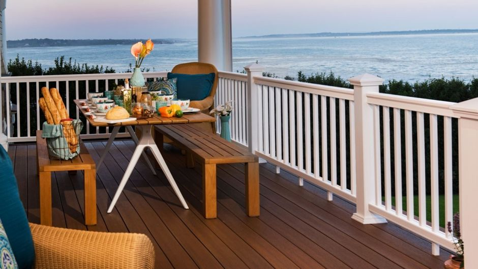 Decking And Railing   Construx Building
