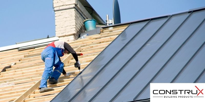 How to Install Metal Roofing over Plywood