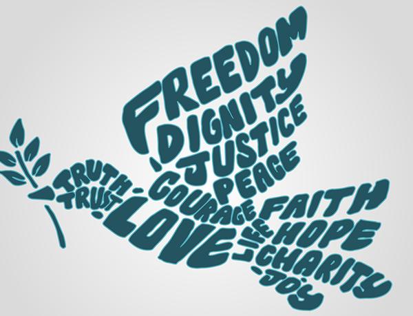 La libertà dell'uomo, ultimo traguardo del suo percorso evolutivo