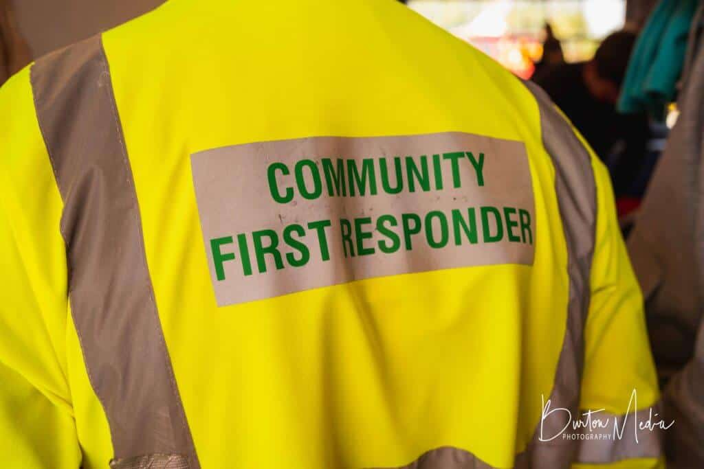 Community First Responder tabard