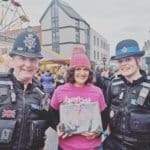 Crushing Cancer Calendar with two police officers
