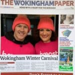 The Crushing Cancer Calendar in the Wokingham Paper - Burton Media