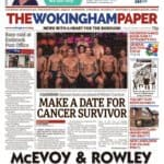 Crushing Cancer in the Wokingham Newspaper - Burton Media