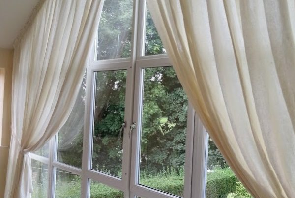 Arched Window Drapes