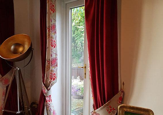 bespoke made curtains shipley