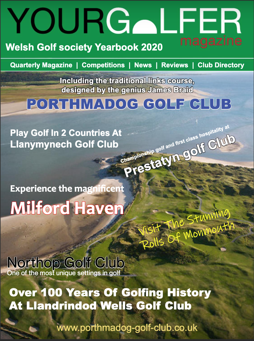 Welsh Golf Book compiled by Your Golfer Magazine