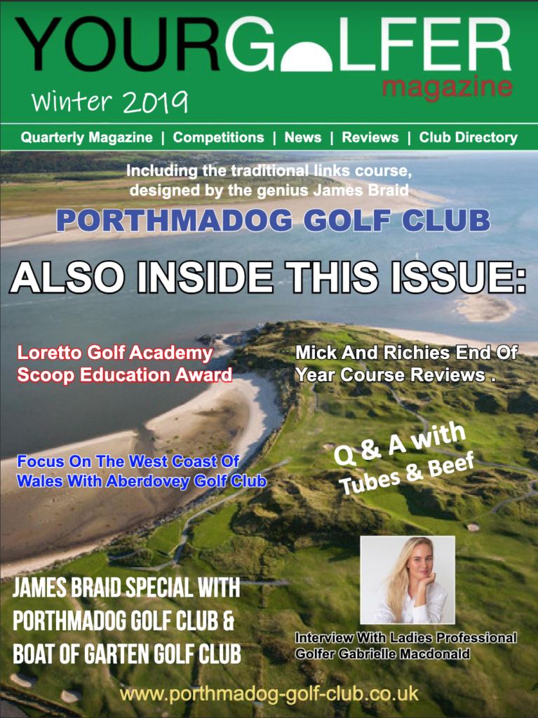 Winter 2019 Edition of Your Golfer Magazine