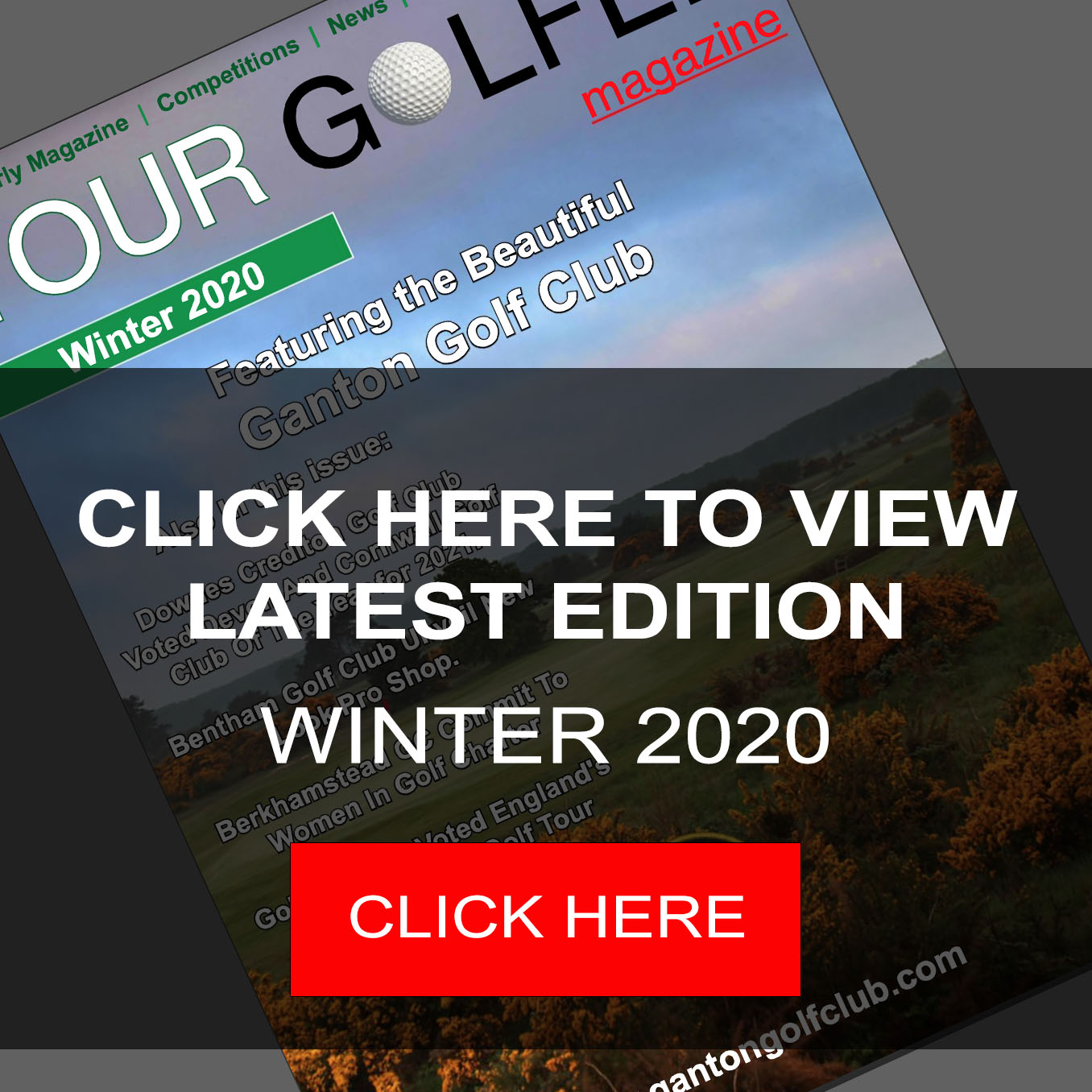 Your Golfer Magazine Latest Edition Winter 2020