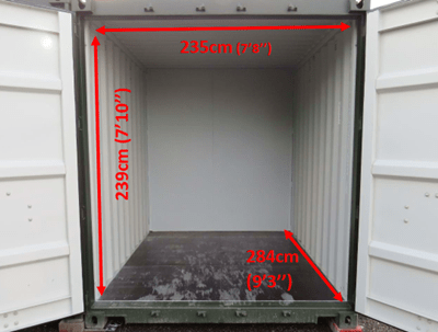 10 foot Storage Containers in Haverhill