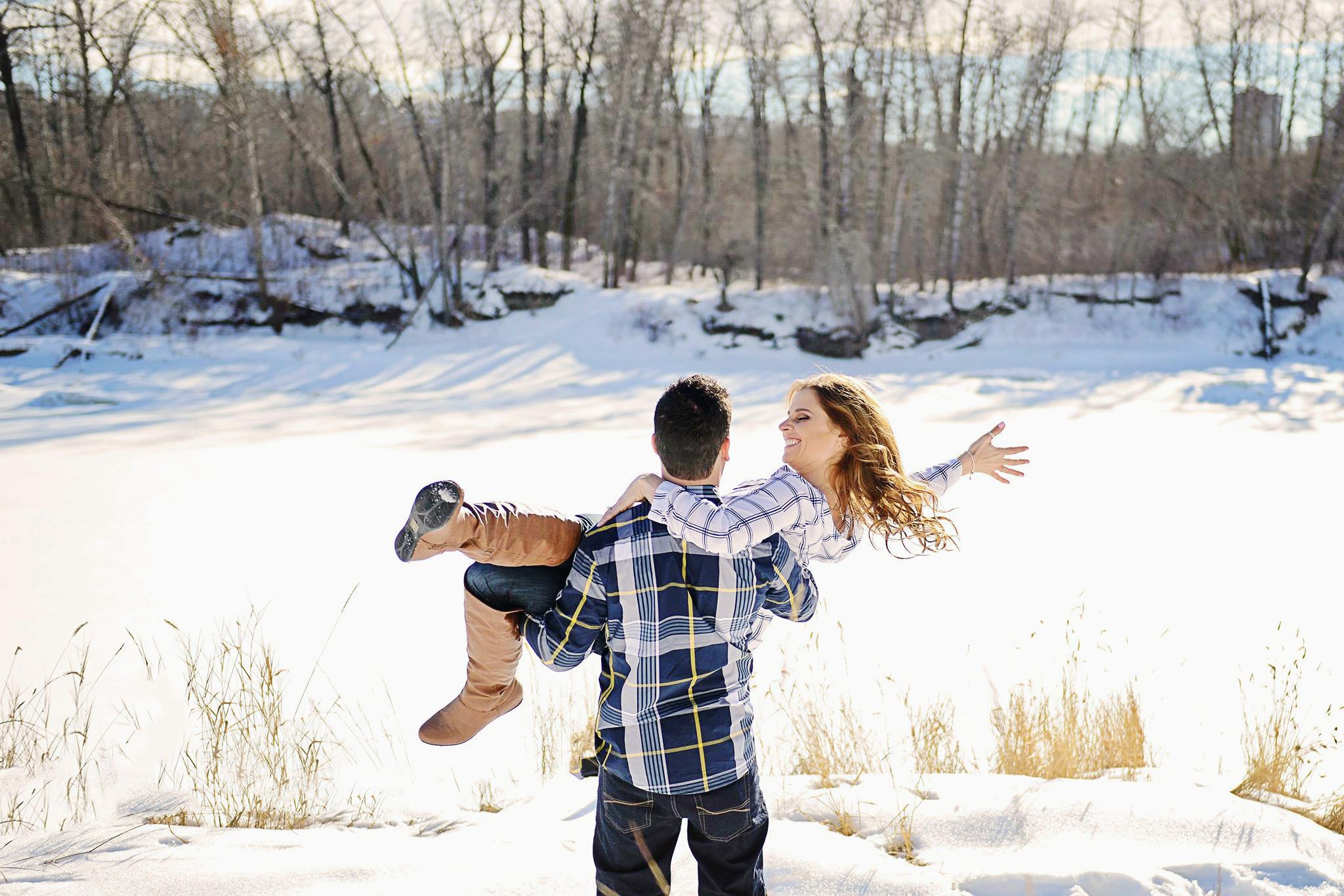 Edmonton Engagement Session, Ashley & Julien
