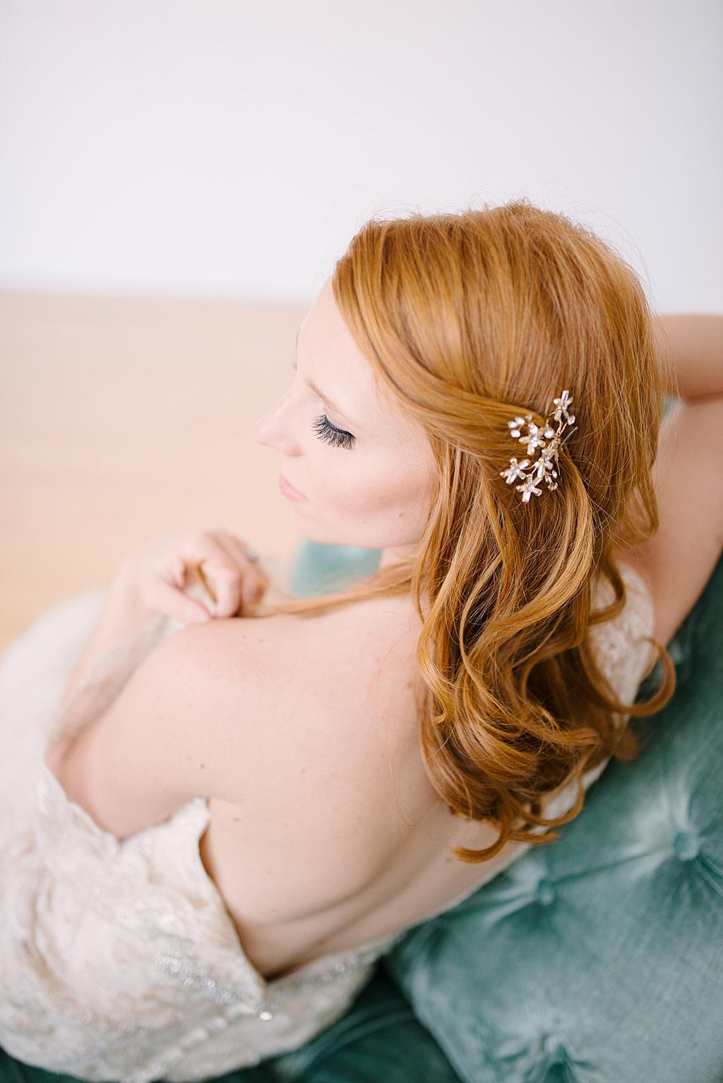 Boudoir Inspired Bridal Fantasy Magazine Feature   Kristilee