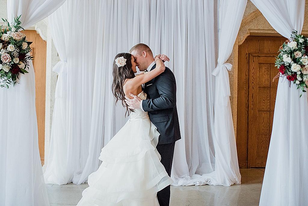 Mount Stephen Hall Wedding Ceremony Banff Springs