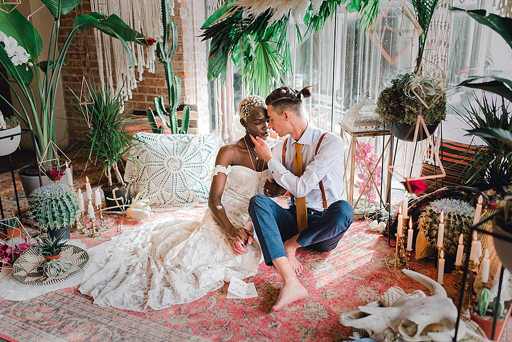 Green Wedding Shoes Feature   Tropical Oasis Elopement Inspiration