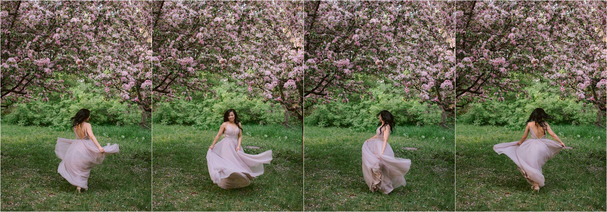 cherry-blossoms-engagement-photos
