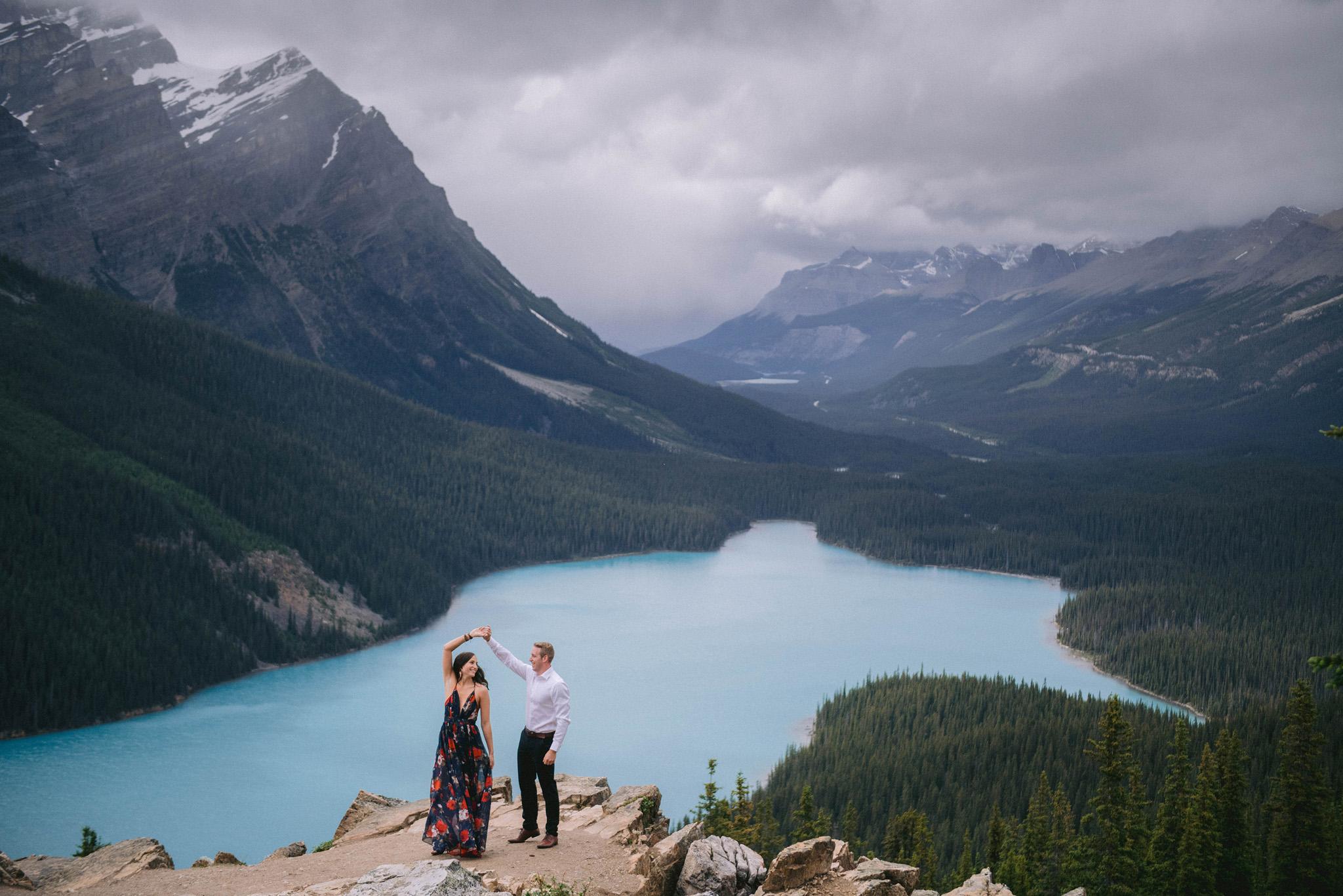 Elopement Photographer Banff Alberta