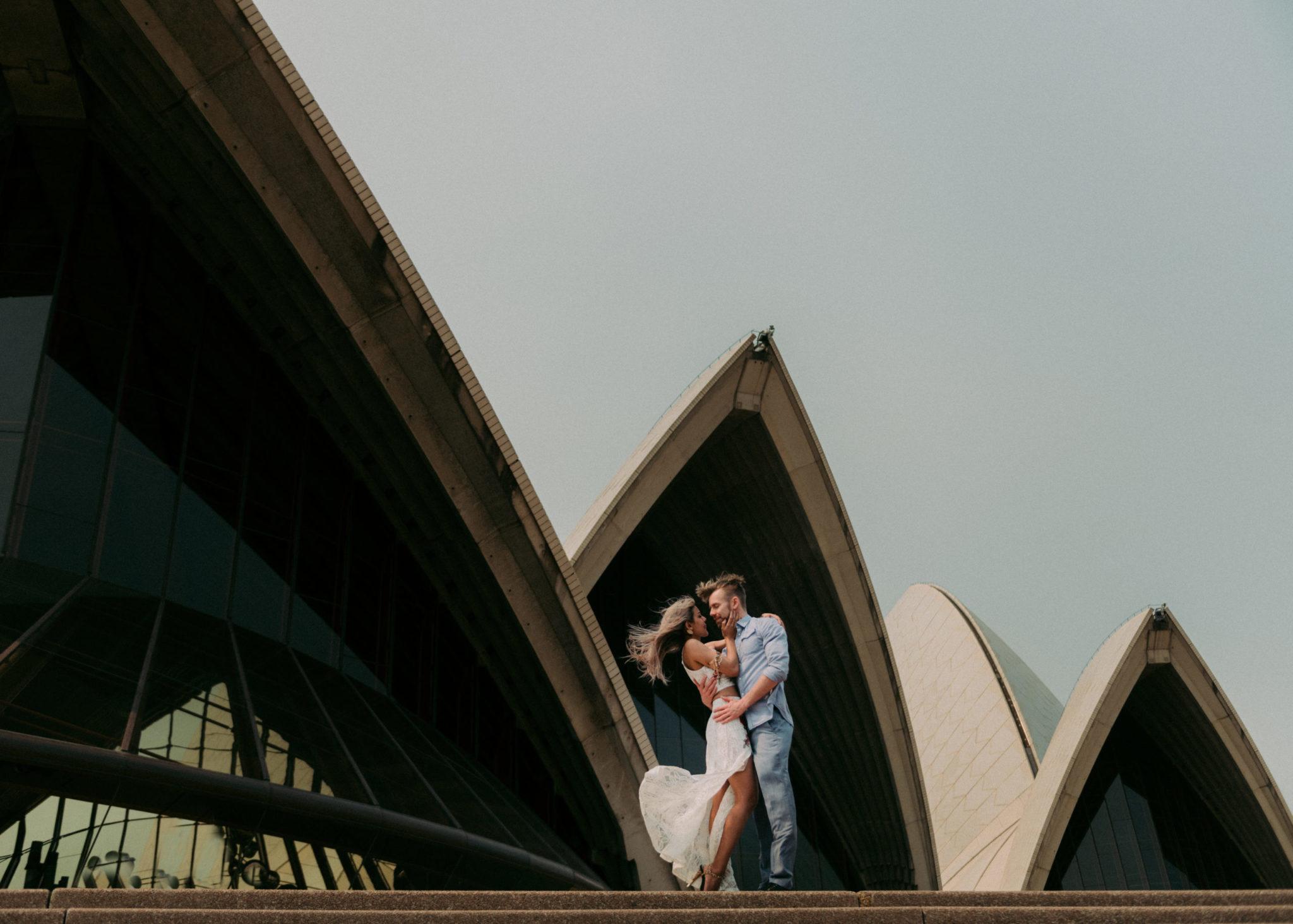 Opera House Sydney Australia Couple's Session