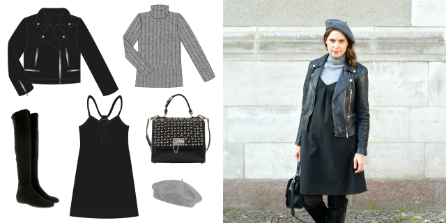 Capsule Wardrobe Winter 2019-2020 ... Sewionista.com ... Nähen ... Slow Fashion ... DIY