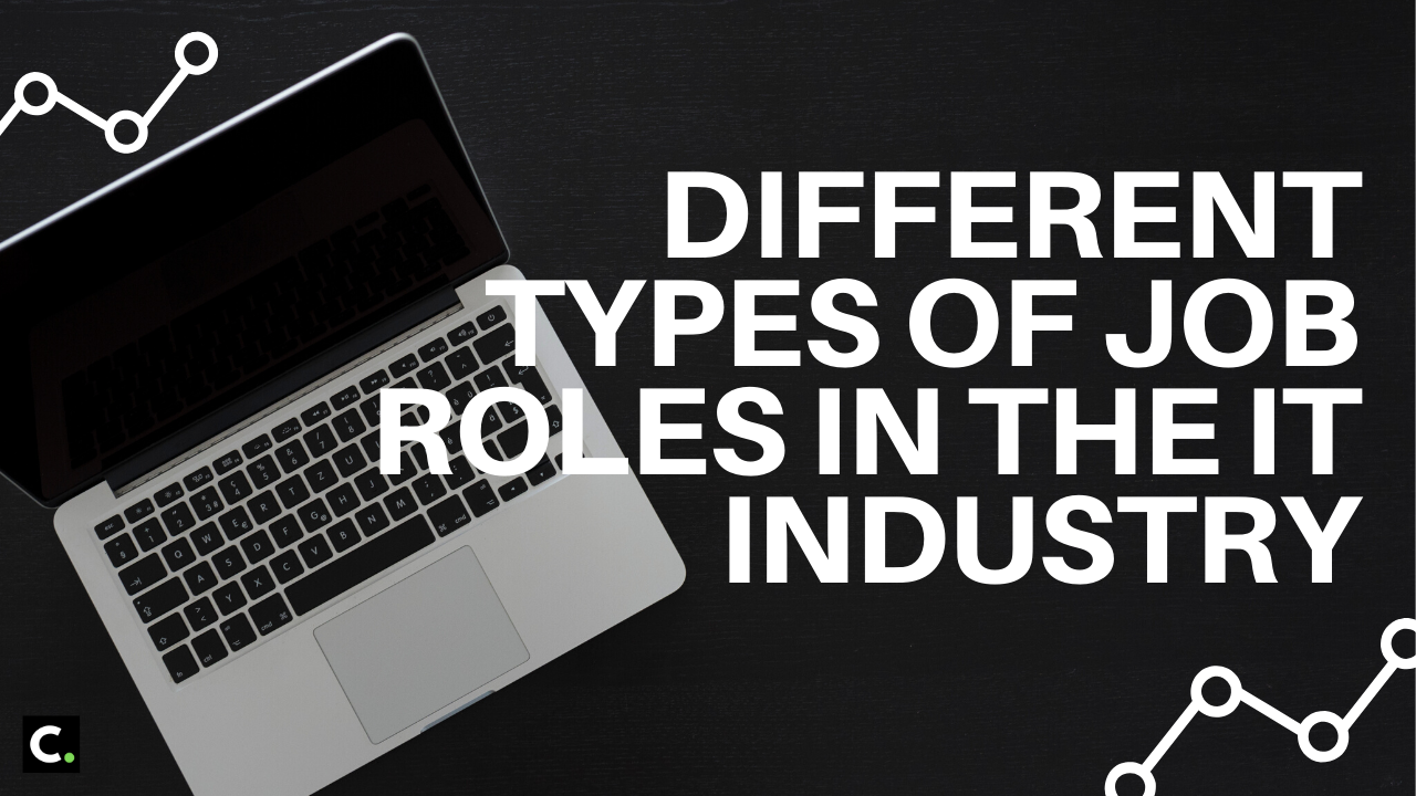 Different types of job roles in the IT industry