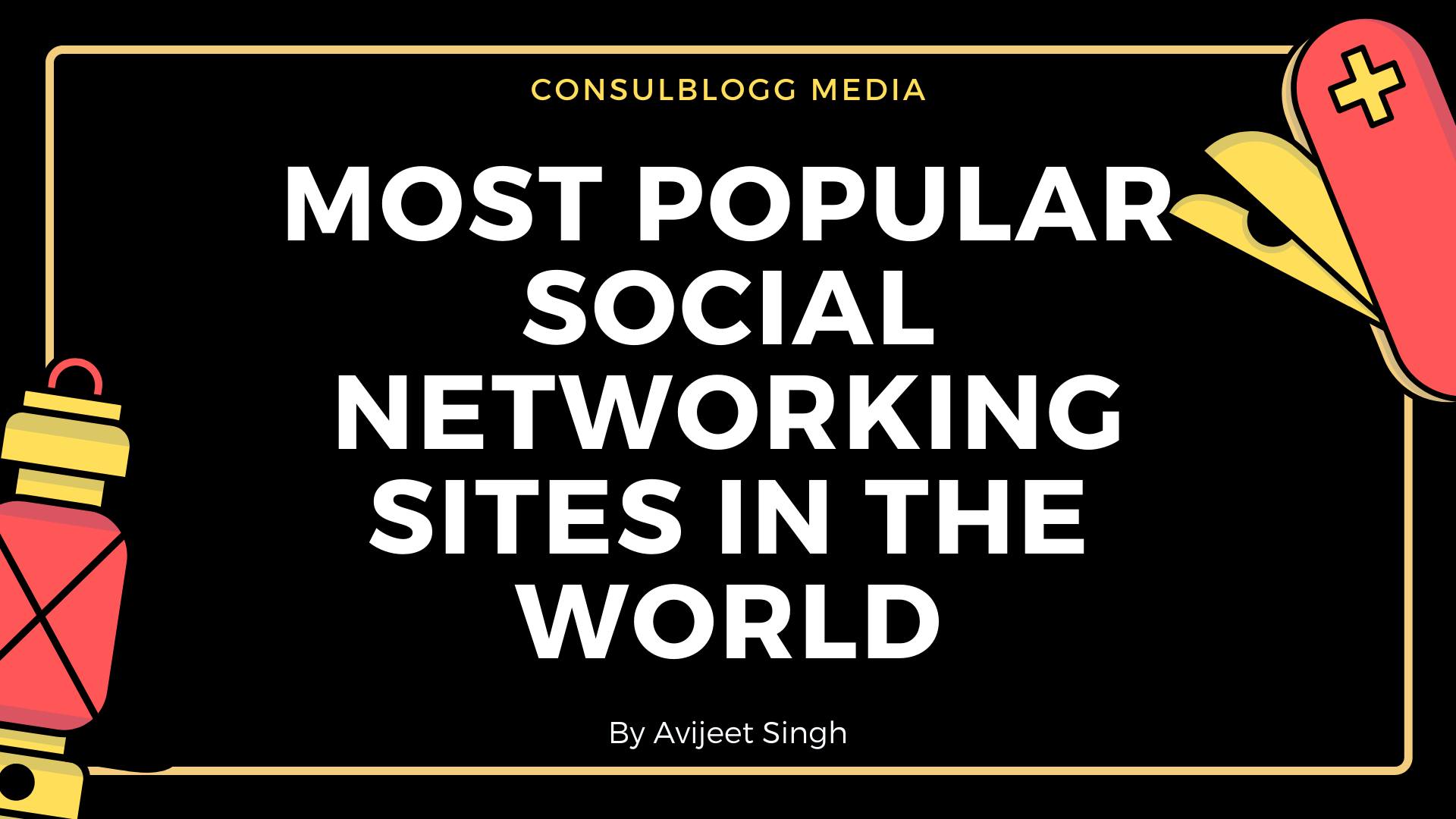 Most popular social networking sites in the world