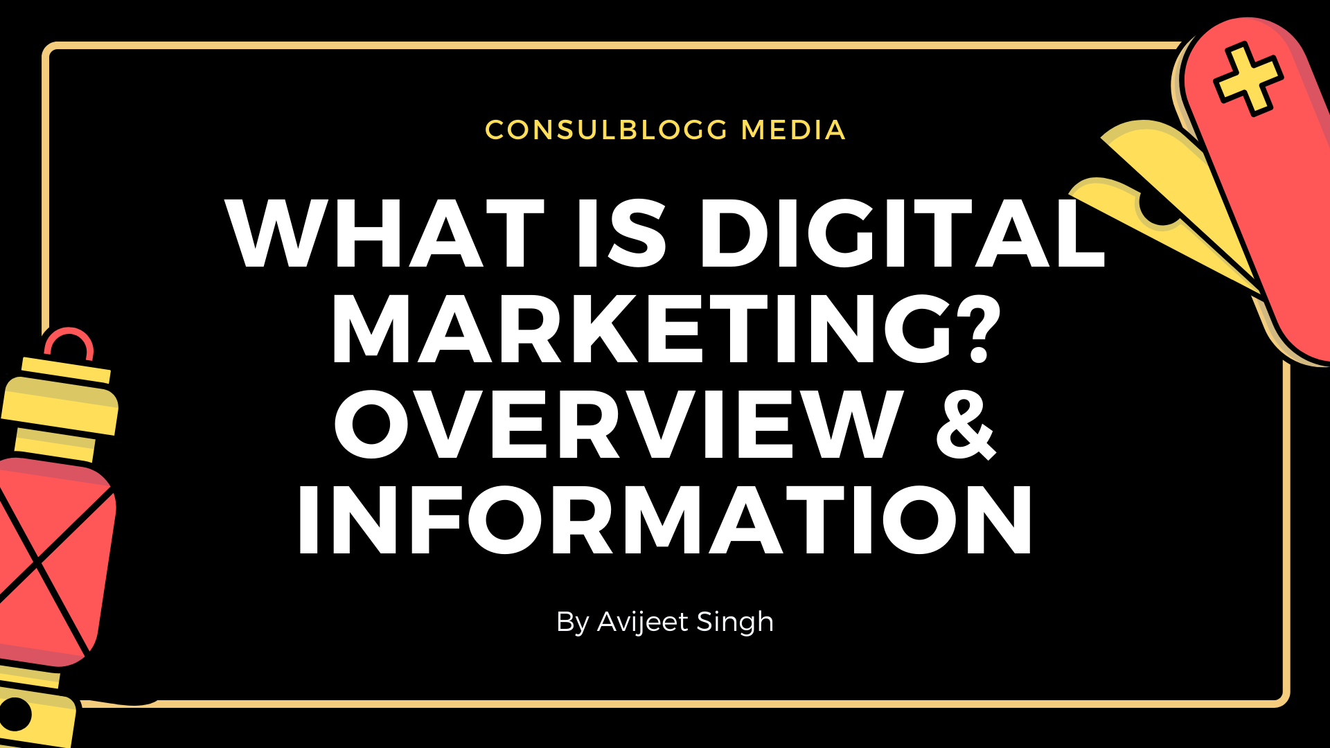 What is digital marketing? overview & information