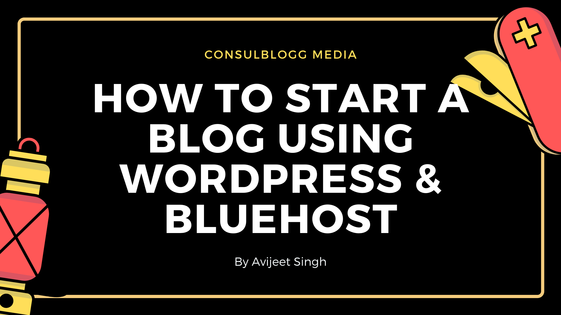 How to start a blog using WordPress & Bluehost