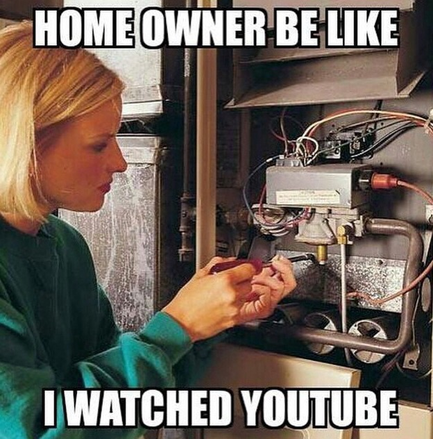 Home owner be like