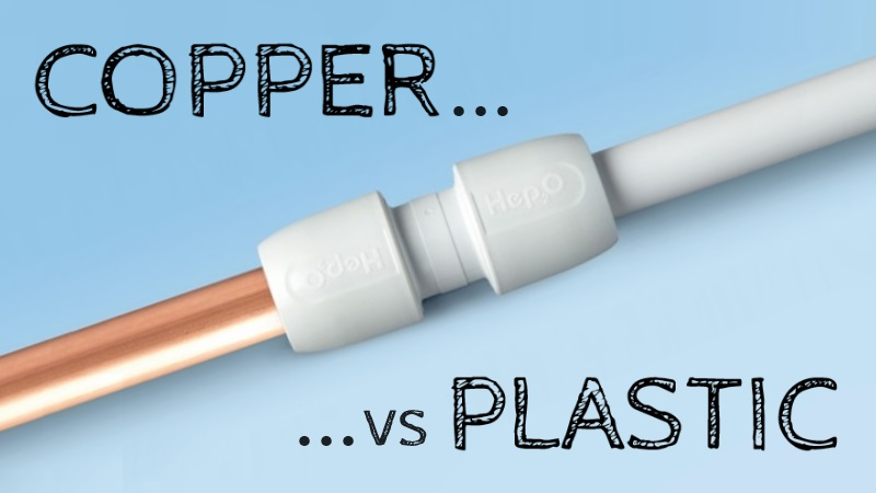 Copper Pipes Vs Plastic Pipes - Which Is Better?