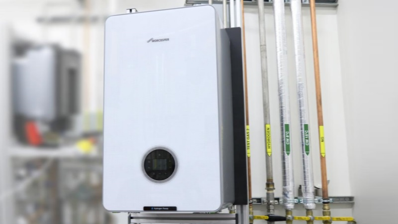 New Hydrogen Gas Boiler Prototype Unveiled by Worcester Bosch