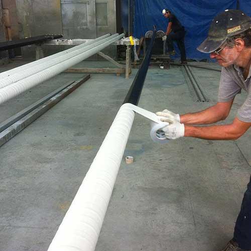 Tape coating