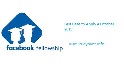 facebook-fellowship 2020-studyhunt.info